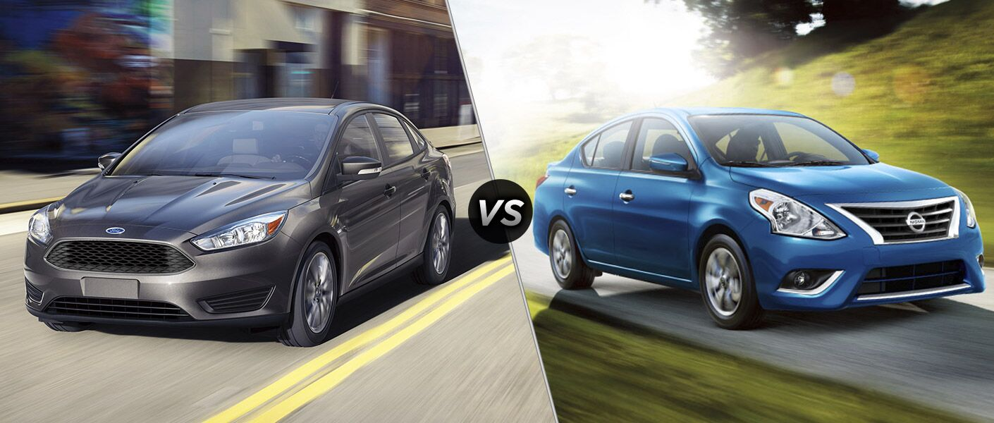 2016 Ford Focus vs 2016 Nissan Versa