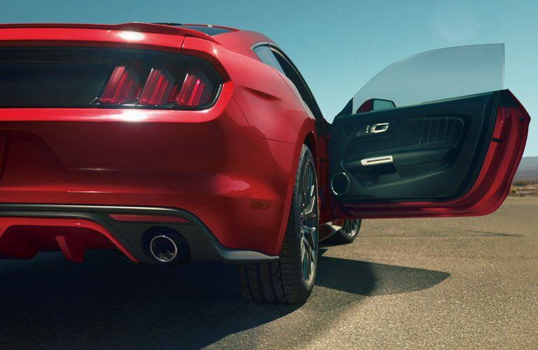 Mustang Rearview