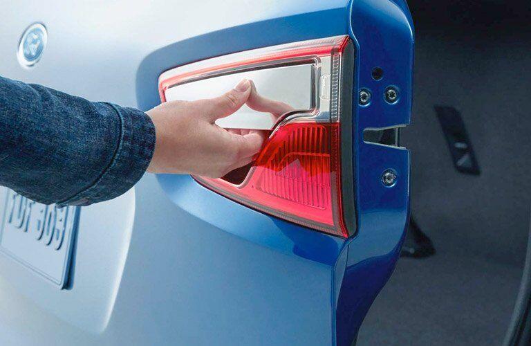 rear door handle 2018 Ford EcoSport