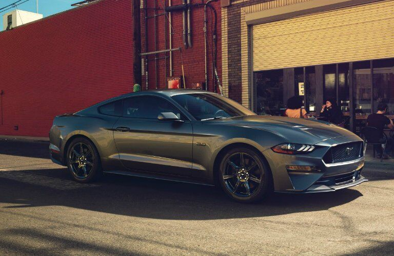 side view of the 2018 Ford Mustang GT