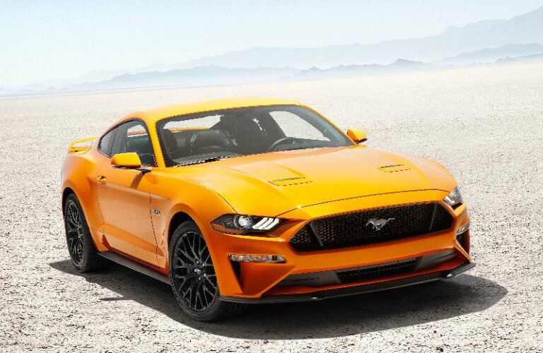 2018 Ford Mustang seen from the side