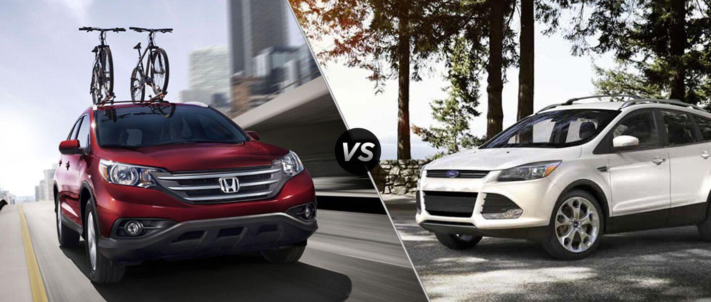 2014 Honda CR-V vs 2014 Ford Escape