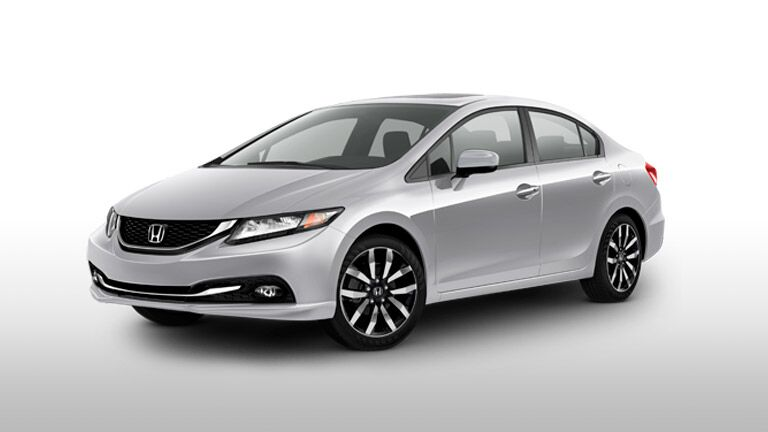 2014 Honda Civic sideview