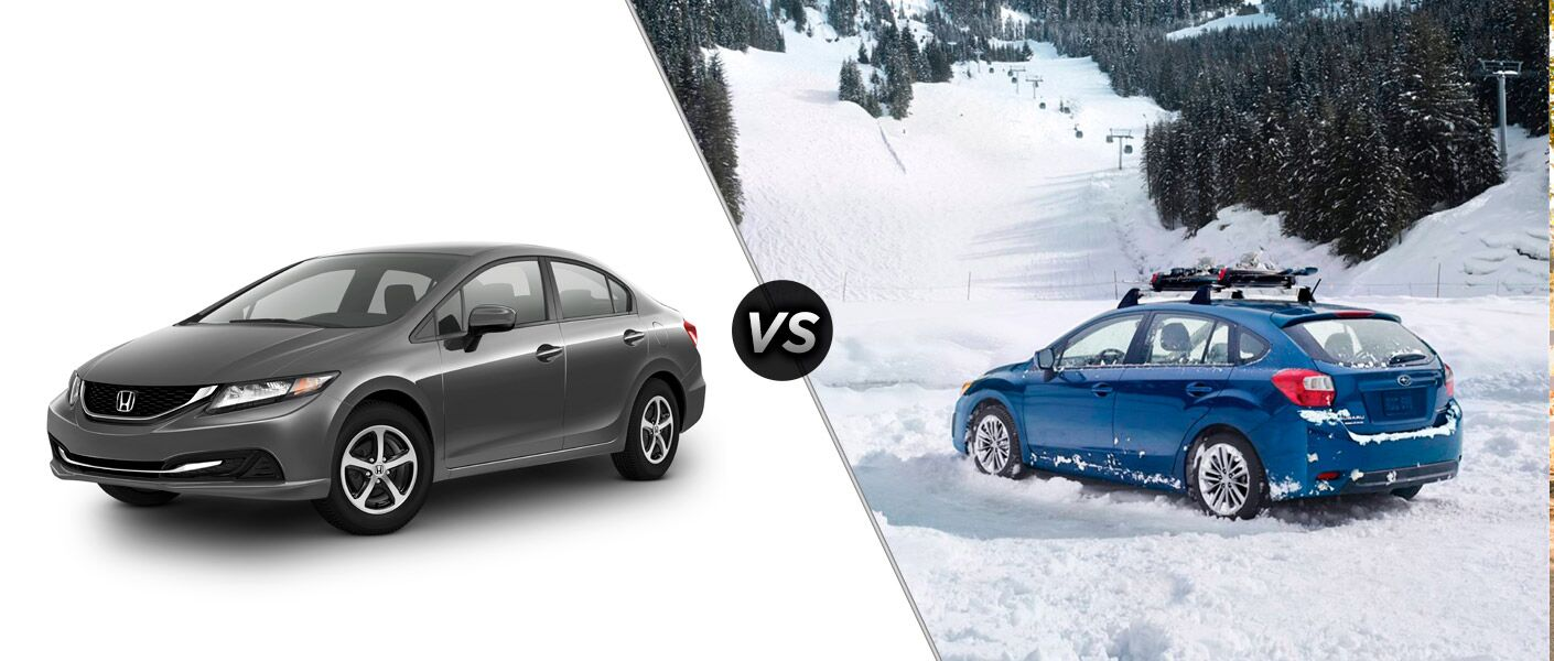 Honda Civic vs 2015 Subaru Impreza
