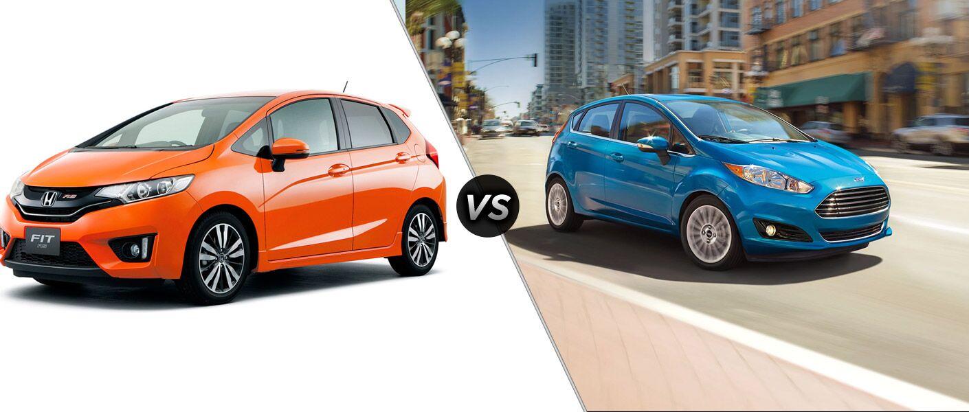 2015 Honda Fit vs 2014 Ford Fiesta