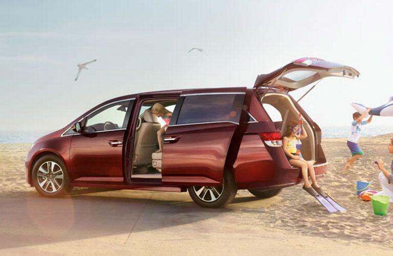 2016 Honda Odyssey Cargo