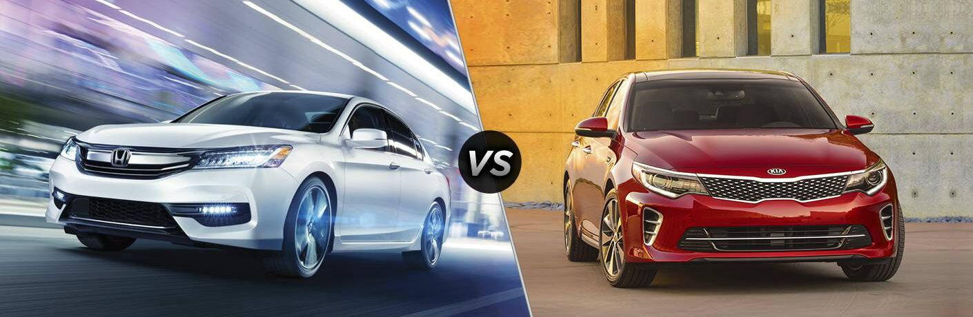 2017 Honda Accord EX vs 2017 Kia Optima EX