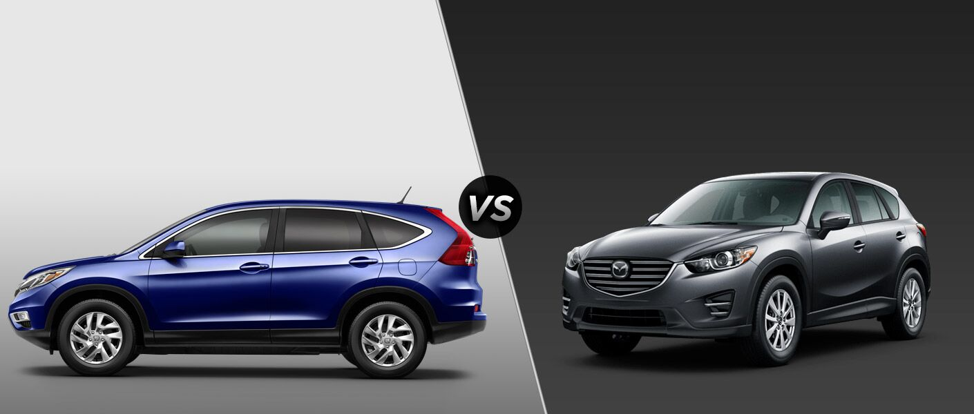 2016 Honda CR-V EX vs 2016 Mazda CX-5