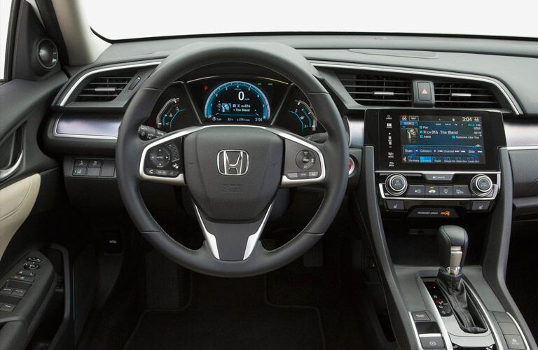 2016 Honda Civic EX Interior