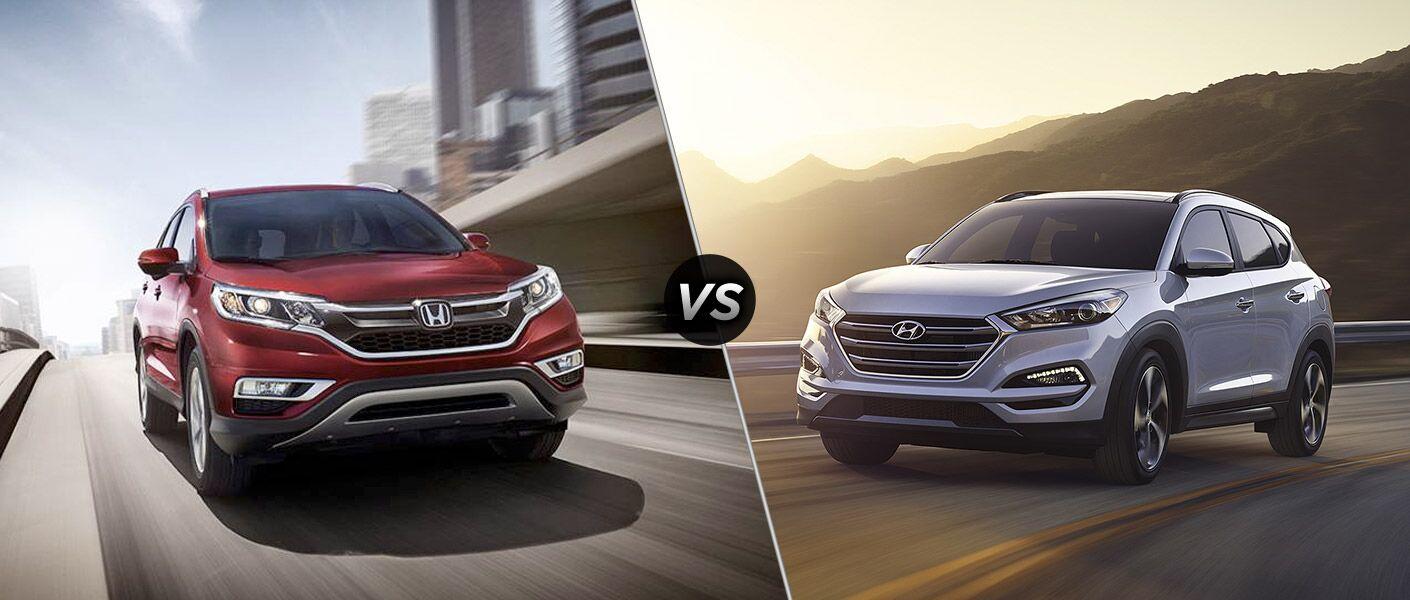 2016 Honda CR-V Touring vs 2016 Hyundai Tucson Limited