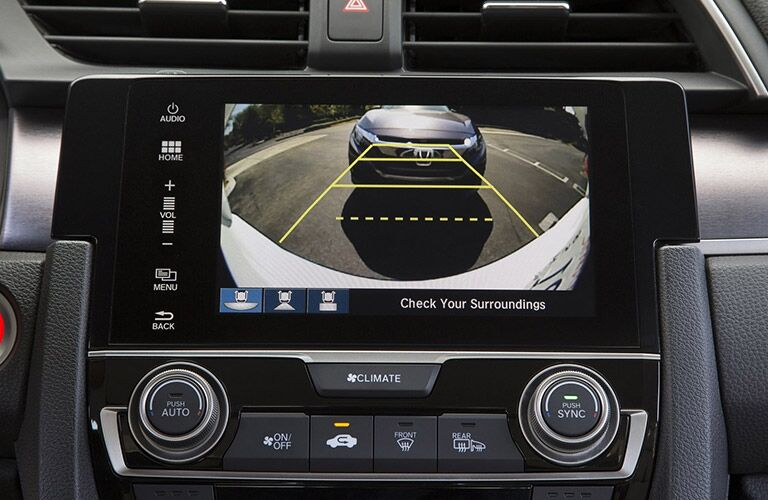 2016 Honda Civic Standard Rearview Camera