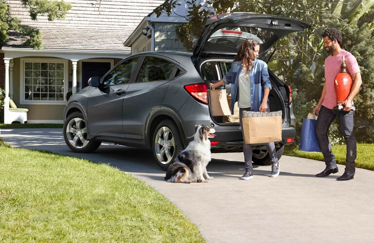 2017 Honda HR-V spacious cargo