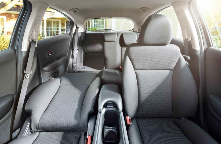 2017 Honda HR-V fold down front seat