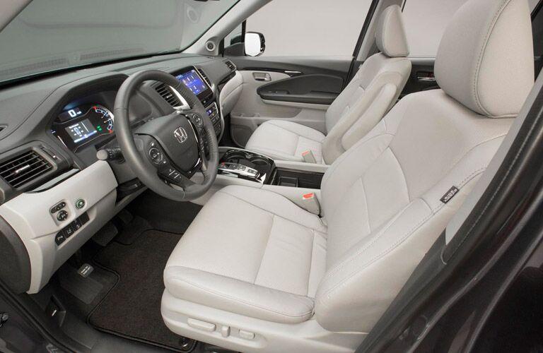 2016 Honda Pilot Elite Premium Front Seats