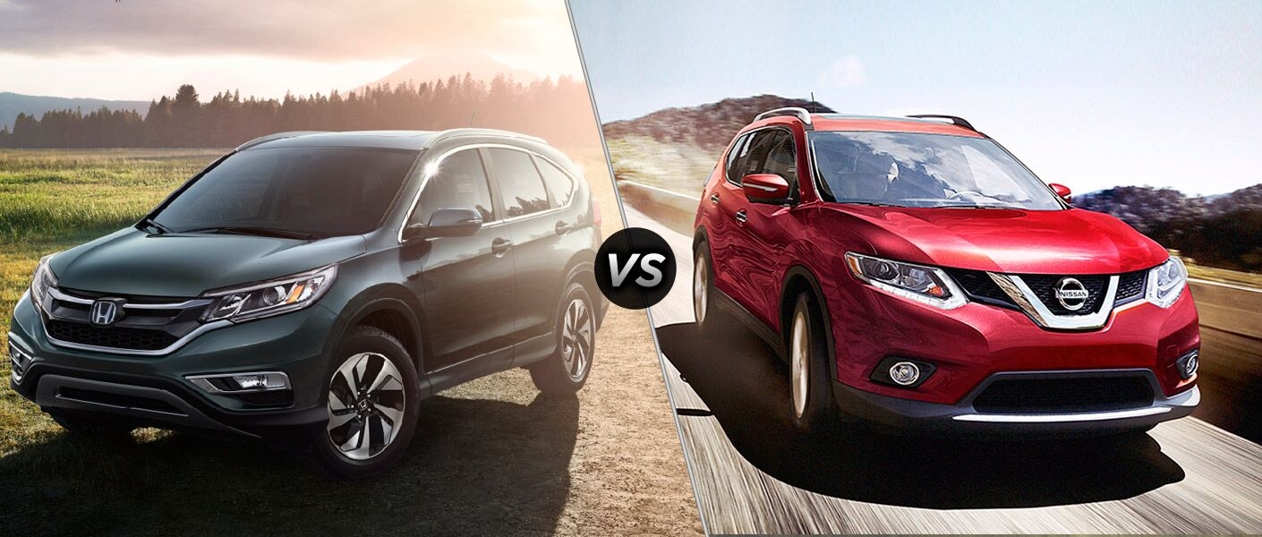2016 Honda CR-V Touring vs 2016 Nissan Rogue SL