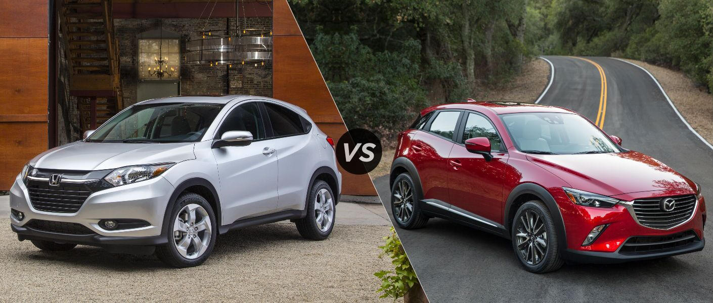 2016 Honda HR-V EX vs 2016 Mazda CX-3