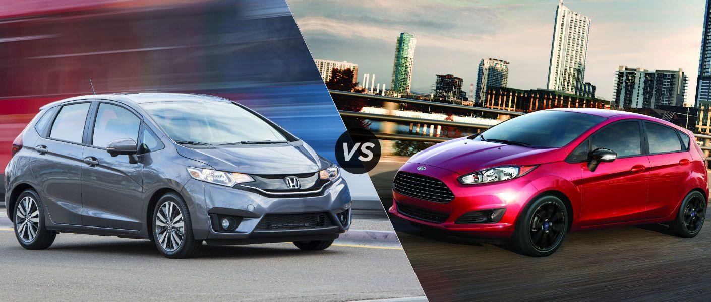 2016 Honda Fit EX-L vs 2016 Ford Fiesta Titanium