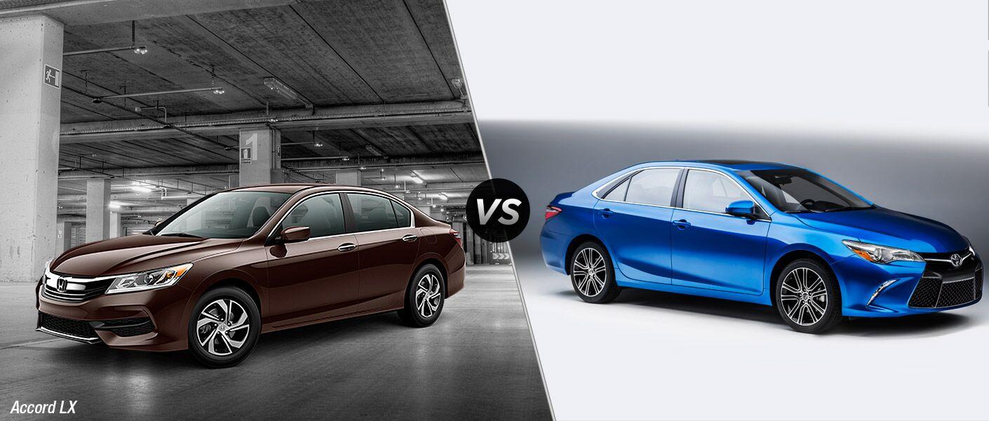 2016 Honda Accord LX vs 2016 Toyota Camry