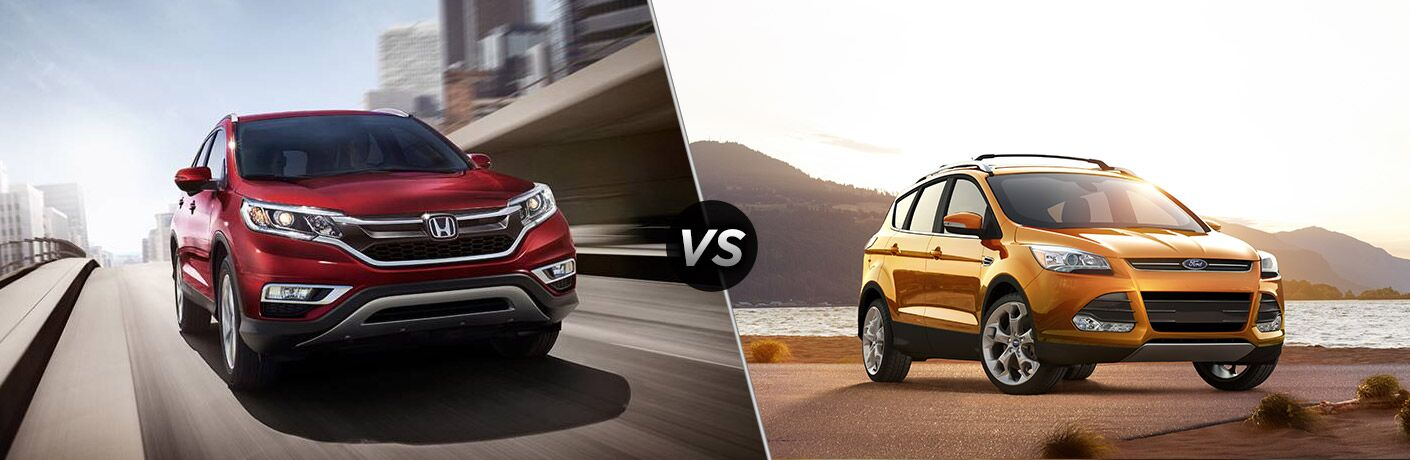 2016 Honda CR-V Touring vs 2016 Ford Escape Titanium