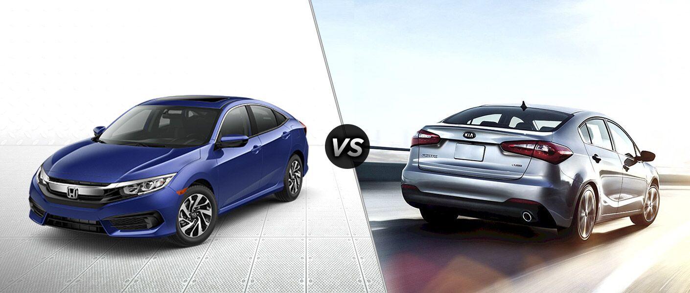 2016 Honda Civic EX vs 2016 Kia Forte