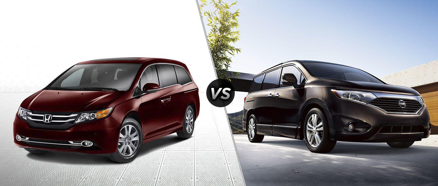 2016 Honda Odyssey Touring vs 2016 NIssan Quest
