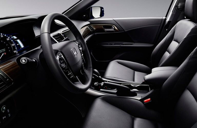 2017 Honda Accord Hybrid leather interior seating