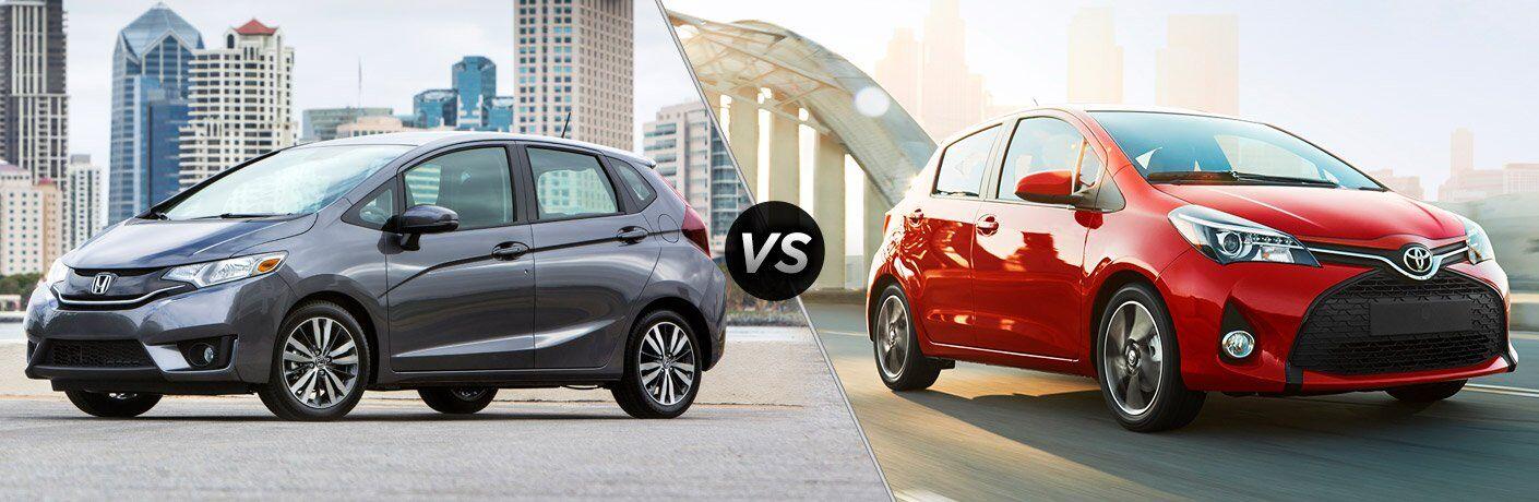 2017 Honda Fit vs 2017 Toyota Yaris