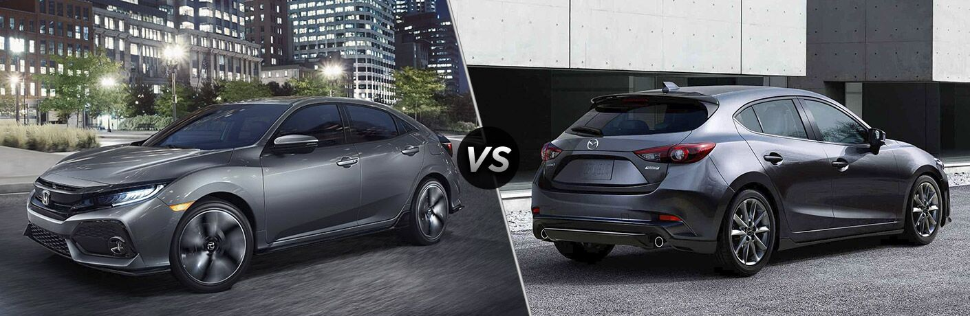 2017 civic vs 2017 mazda 3