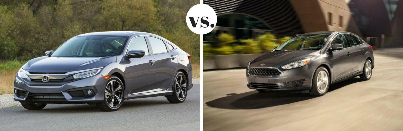 2017 Honda Civic vs 2017 Ford Focus