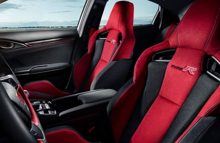 2018 honda civic type r race seats