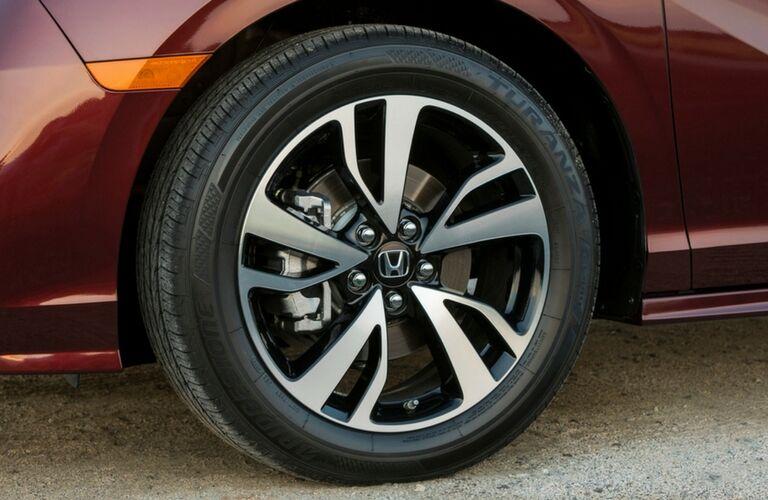2019 honda odyssey wheel detail