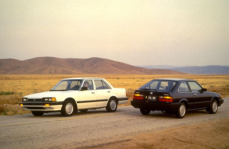 2nd Generation Honda Accord Sedan and Hatchback