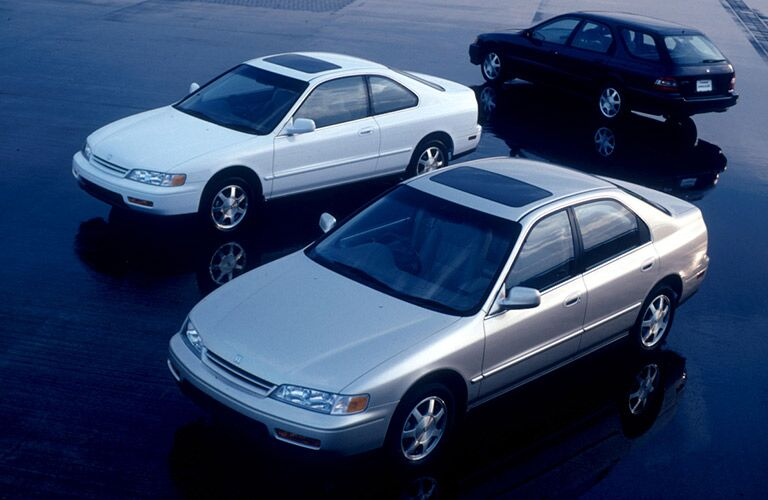 5th Generation Honda Accord Models