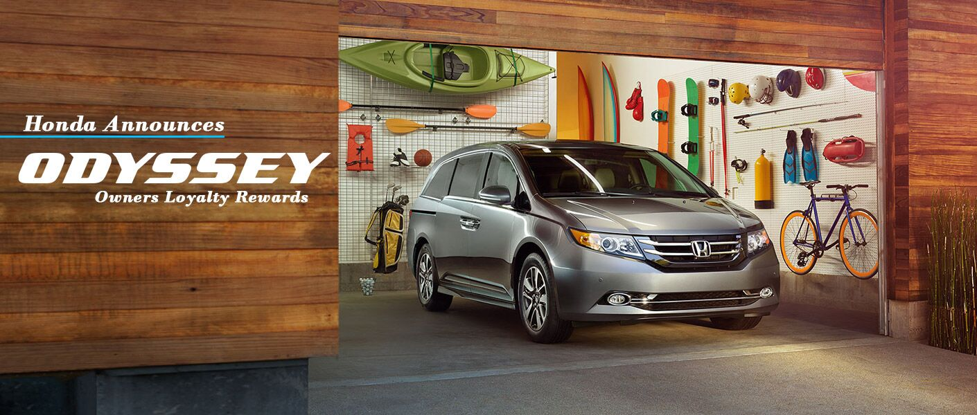 Honda Odyssey Owners Loyalty Rewards