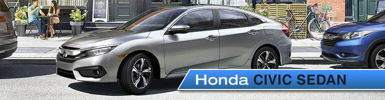 2017 Honda Civic Sedan Golden CO