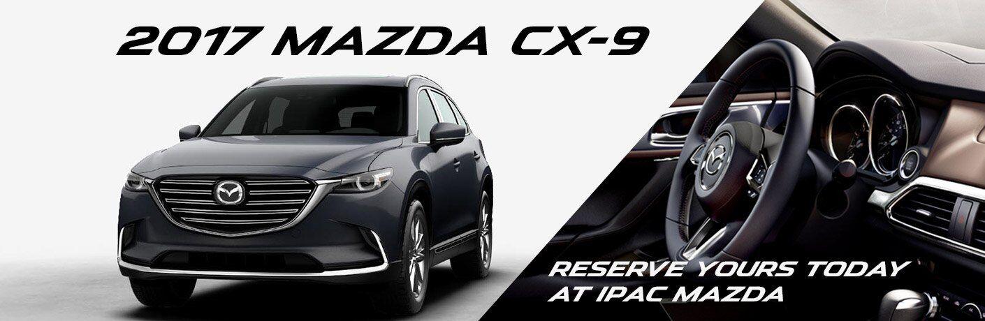 Reserve a 2017 Mazda CX-9 in San Antonio, TX