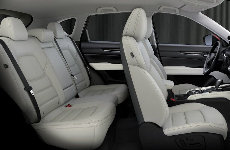 2017 Mazda CX-5 interior seats from the side
