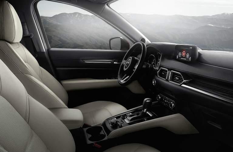 2017 Mazda CX-5 interior front seating area