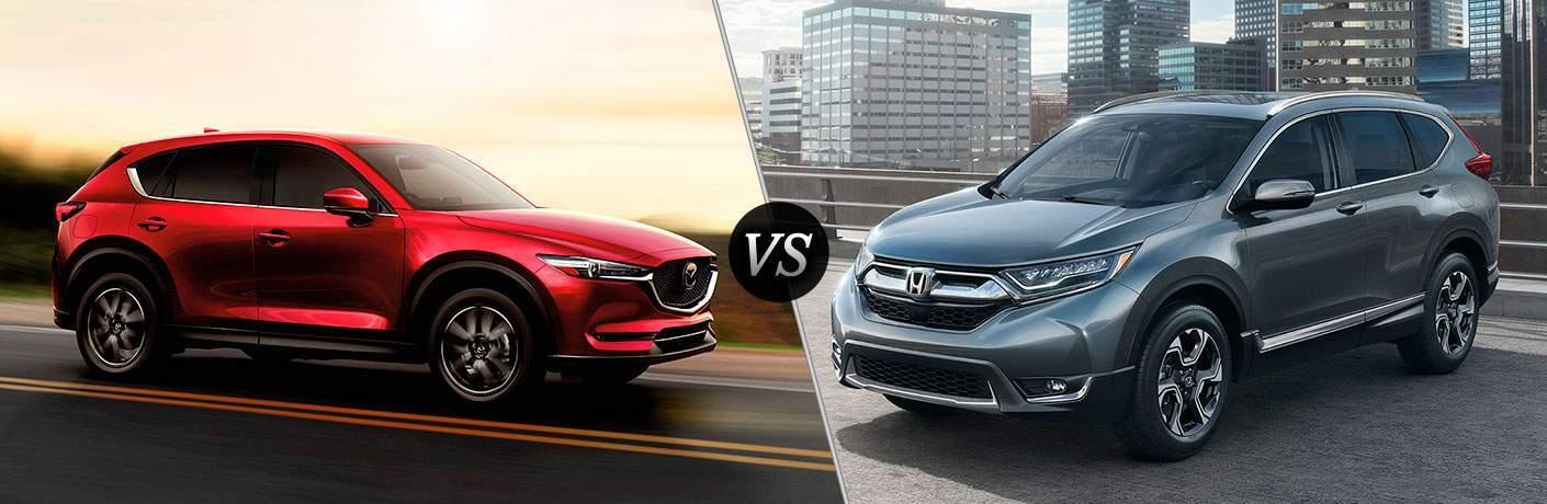 2017 Mazda CX-5 vs 2017 Honda HR-V