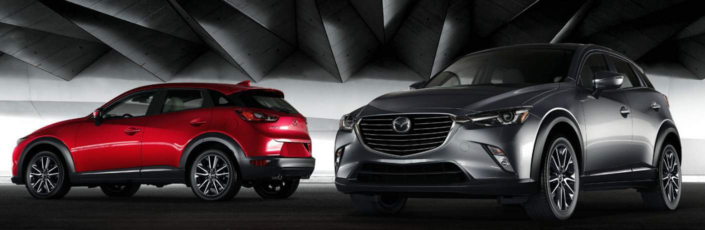2018 Mazda CX-3 models parked near each other