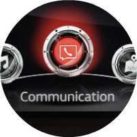 2018 Mazda CX-9 infotainment display closeup