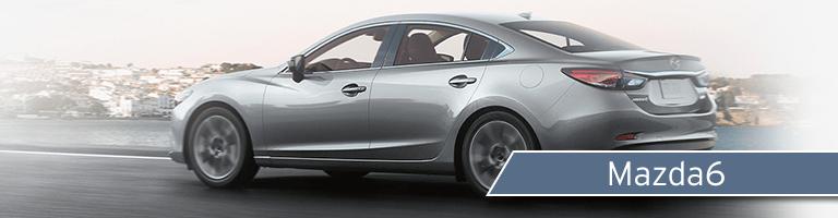 2017 Mazda6 exterior rear driver side angle