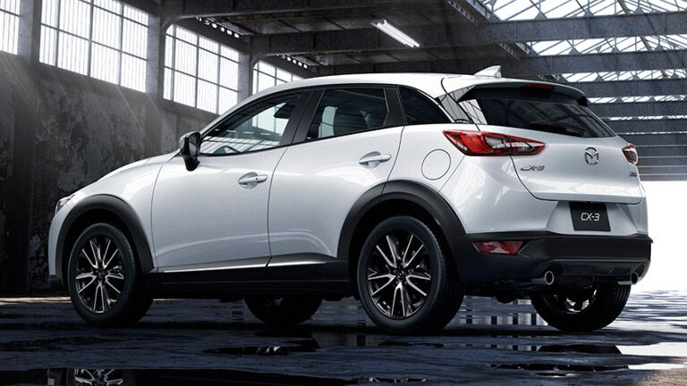 What colors does the Mazda CX-3 come in?