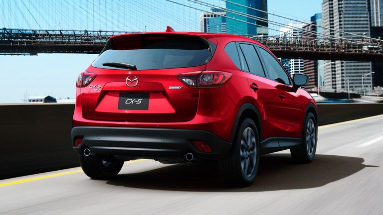 2016 Mazda CX-5 cargo space