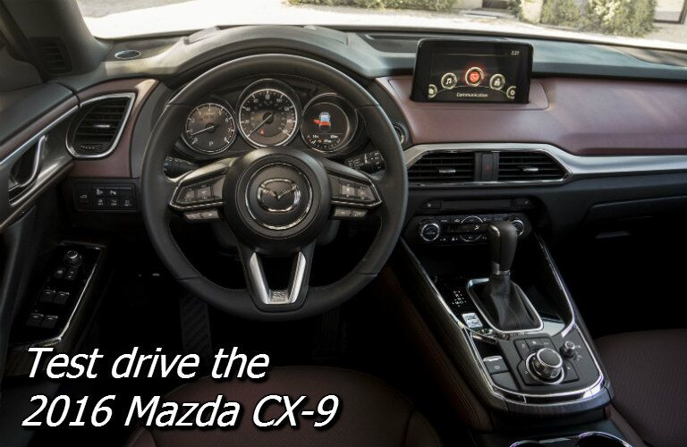 test drive the 2016 mazda cx-9 in fond du lac wi