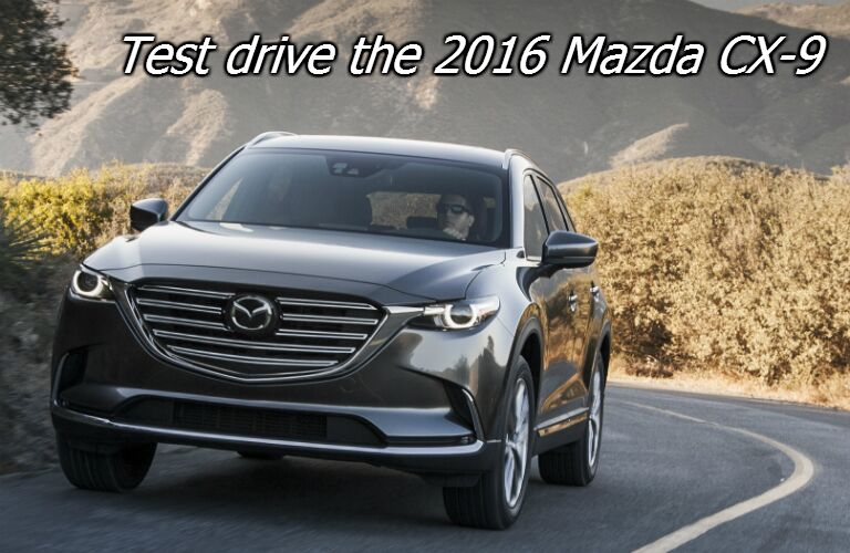 test drive the all new mazda cx-9 in fond du lac