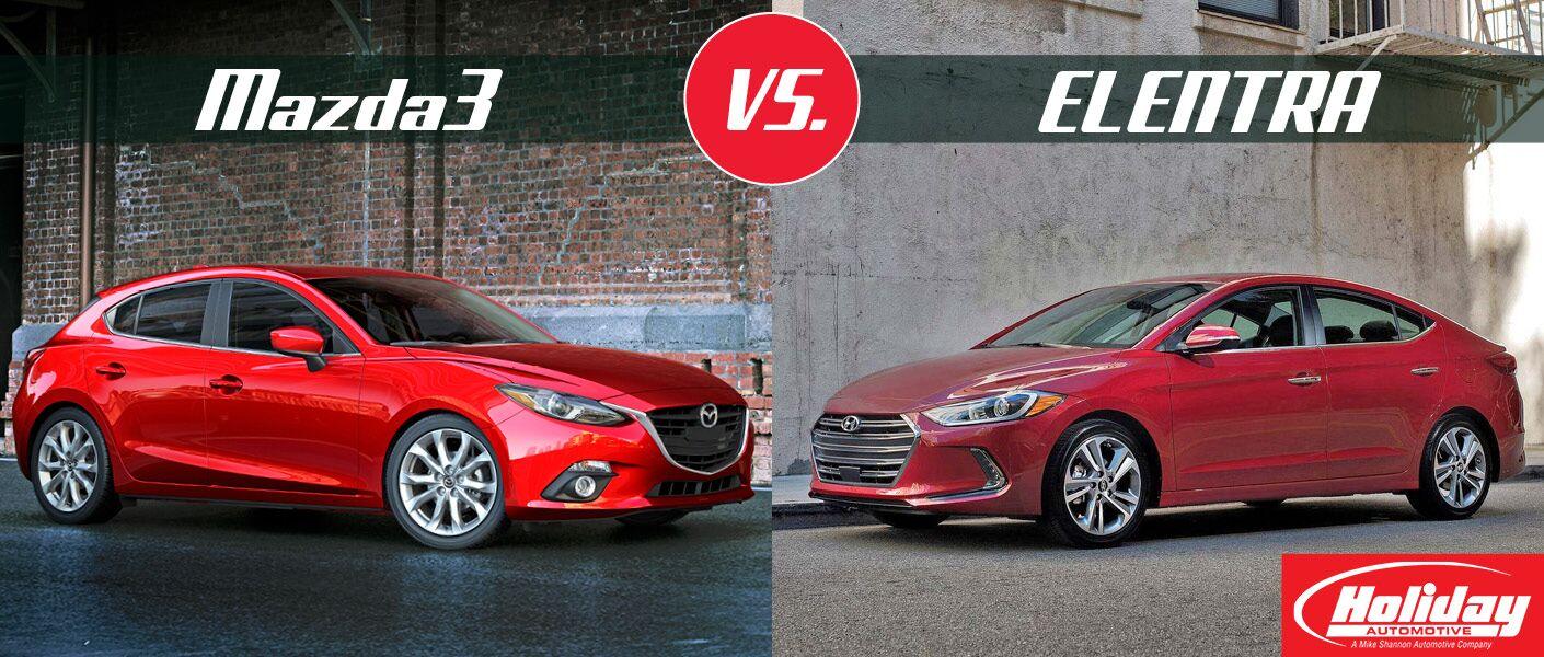 2017 Mazda3 vs 2017 Hyundai Elantra