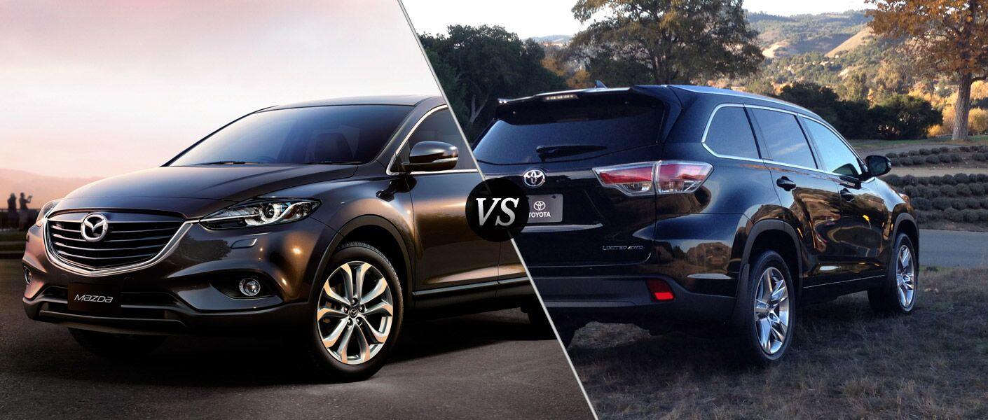 2014 Mazda CX-9 vs 2014 Toyota Highlander