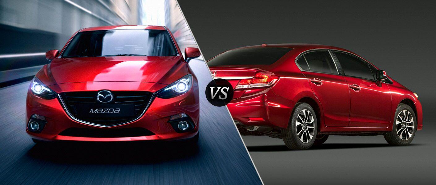 Mazda 3 vs Honda Civic