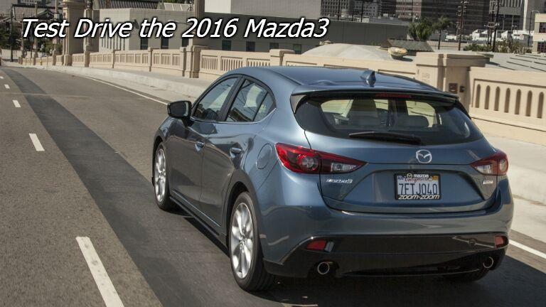 test drive the mazda3 in fond du lac